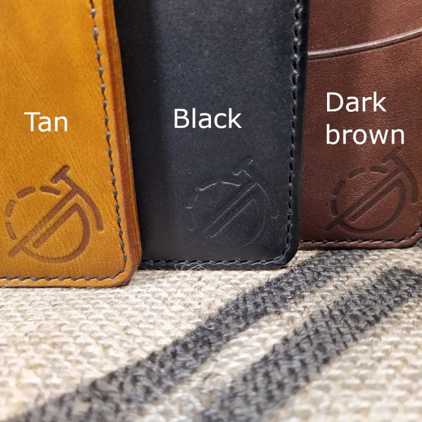 Wallet leather colours