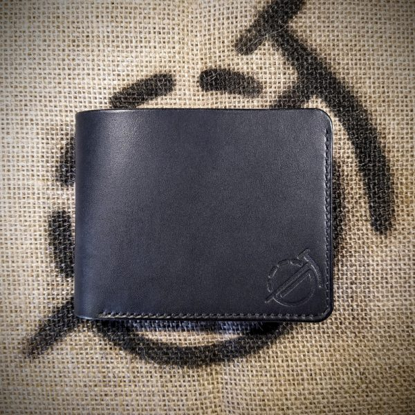 Soldier in black with black stitching
